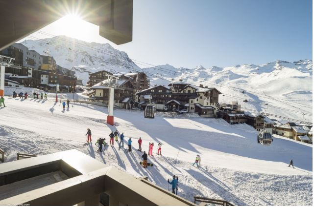 Ski in /  ski out chalets and apartments in French Alps