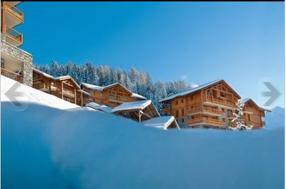 Cimes Vallandry, 2 bedrooms + cabine, sleeps 8, Dec 21, 2013
